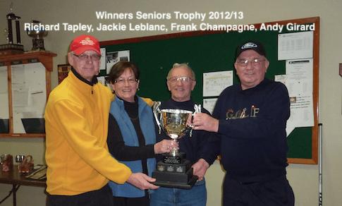 2012-13 Seniors Primeau Cup Winners