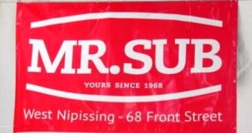 Banner - Mr Sub