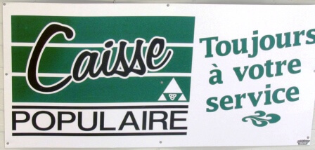 Sign - Caisse