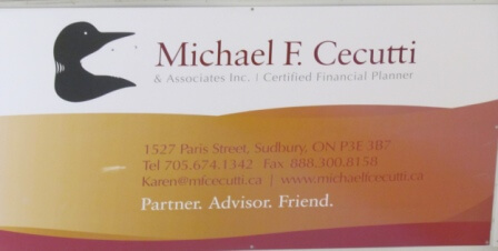 Sign - Cecutti & Associates