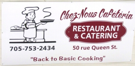 Sign - Chez Nous