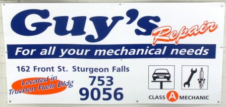 Sign - Guys Garage