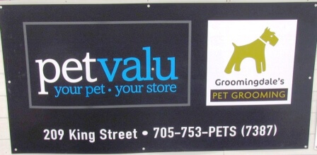 Sign- Pet Valu