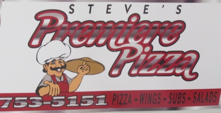 Sign - Premier Pizza