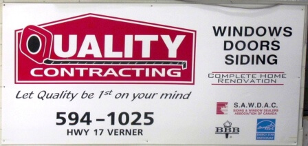 Sign - Qualuty Contracting