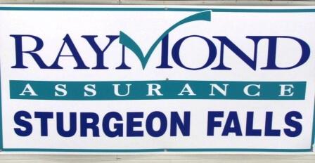 Sign - Raymond Insurance