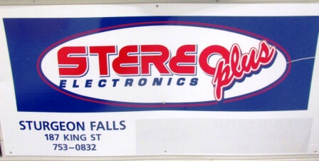 Sign -Stereo Plus
