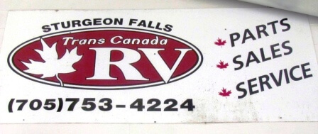 Sign - Sturgeon RV